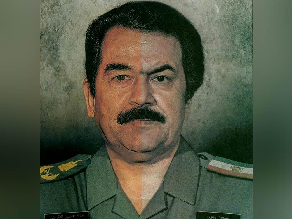 مسعود رجوی و صدام حسین