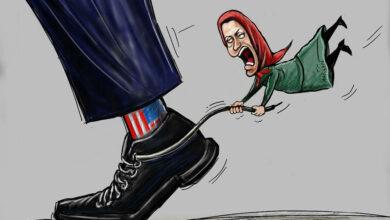 مریم رجوی و مزدوری امریکا
