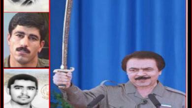 مسعود رجوی و حجت زمانی