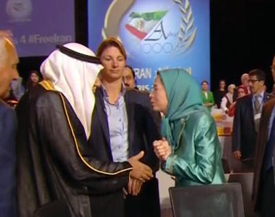 مریم رجوی و عربستان