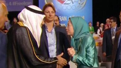 مریم رجوی و ترکی فیصل