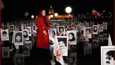 تصویر از و باز هم مرده خوری رجوی ها