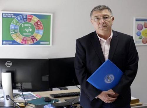 نماینده سازمان بهداشت جهانی در آلبانی - دکتر رائول گونزالز مونترو
