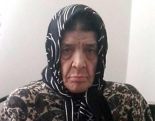 طاهره رضایی مادر حسن رضایی
