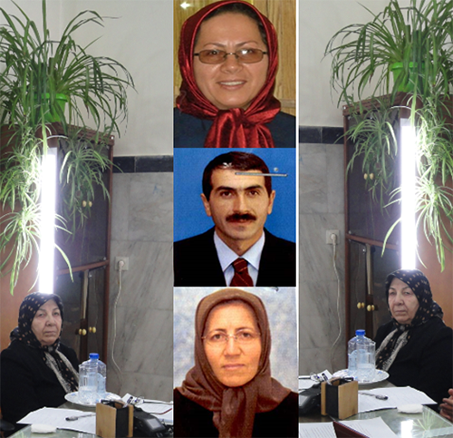 حمائل غنی زاده مادر مهری ، ناهید و محمود سعادت