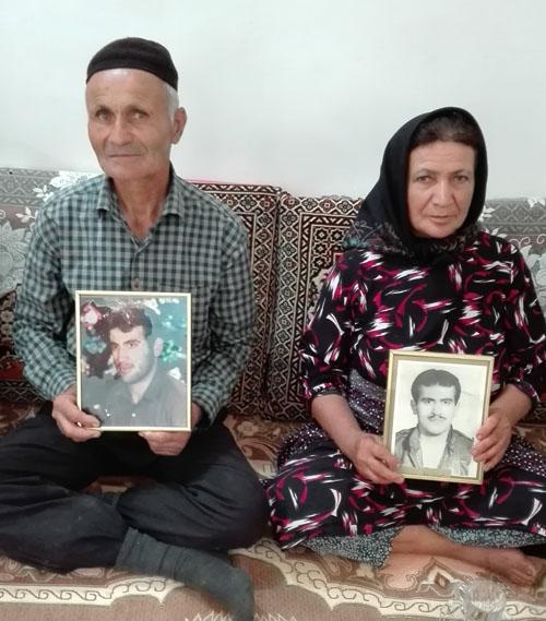 پدر و مادر جبار صبایی - گیلان