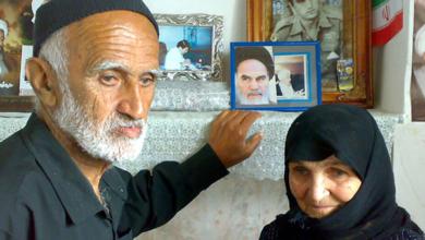 تصویر از پیام تبریک عید به برادرم مهدی ثابت رستمی اسیر فرقه رجوی