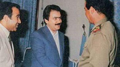 رجوی و صدام