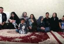 تصویر از پیام خانواده علی مدد صادقی