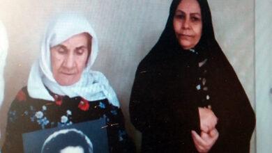 تصویر از درخواست خانواده علی مدد صادقی از خانم ماریا آرنا