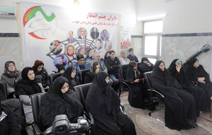 نشست مادران چشم انتظار در تبریز