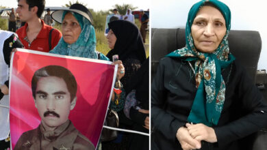 مادر محمد توکلی