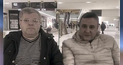 دو ژورنالیست آلبانیایی جرجی تاناسی و اولسی یازچی