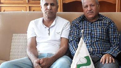 Photo of دیدار محمد تورنگ با خانواده محمود حدادی مقدم