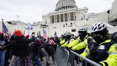 حمله کنندگان به کنگره آمریکا