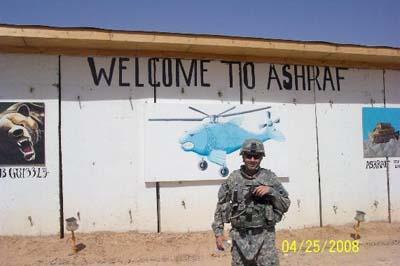 کمپ اشرف و مجاهدین و حضور سربازان امریکایی