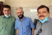 تصویر از دیدار اعضای انجمن نجات خوزستان با خانواده محمدرضا والی زاده