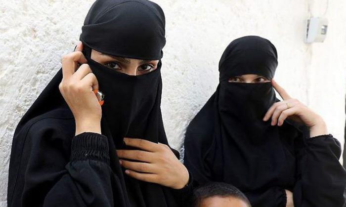 زنان گرفتار در فرقه داعش