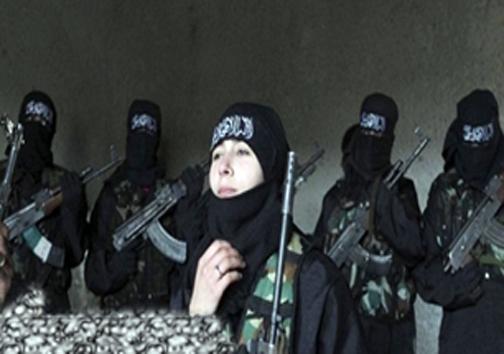 زنان مسلح داعش