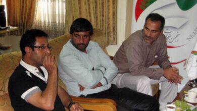 آقای مجید یونسی رمدانی نفر اول از سمت راست