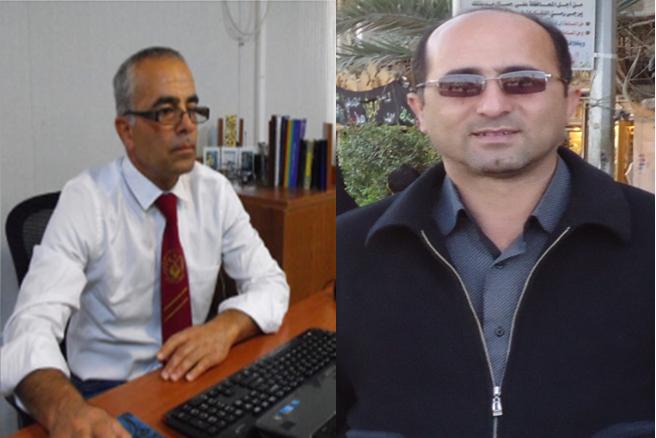 محمد تقی یوسفی و محمد رضا مبین