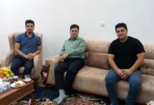 تصویر از دیدار صمیمی اعضای انجمن نجات خوزستان با خانواده فریدون زارع
