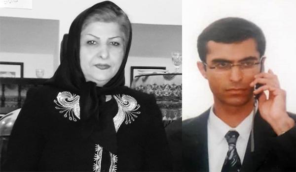 Roozbeh Ataei and his mum