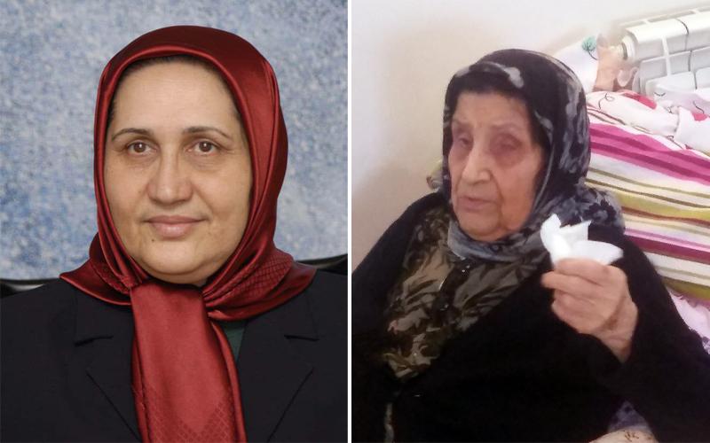 Mahnaz Bazazi mum