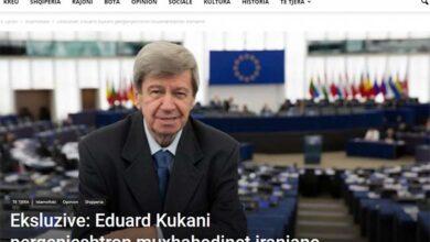 Photo of Eksluzive: Eduard Kukani pergenjeshtron muxhahedinet iraniane