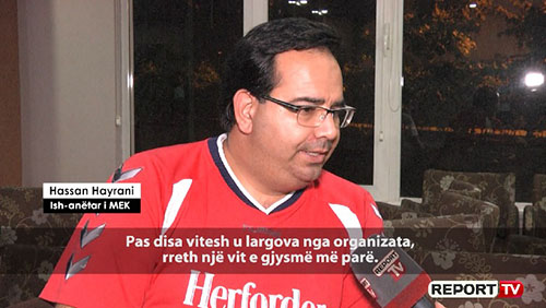 Hassan Heyrani interview with Report TV