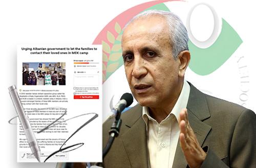 Ebrahim khodabande letter to the Albania Prime Minister