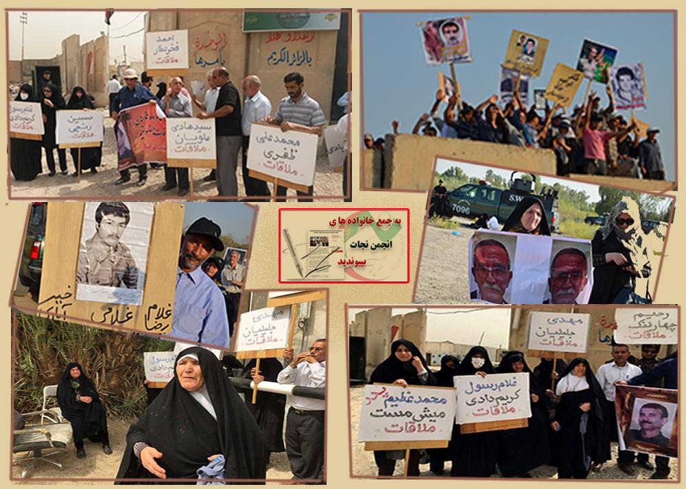 Families of MEK hostages