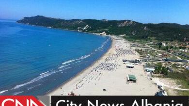 Lalzi Bay of Albania