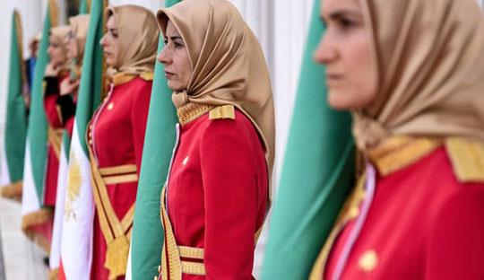MEK women in Albania