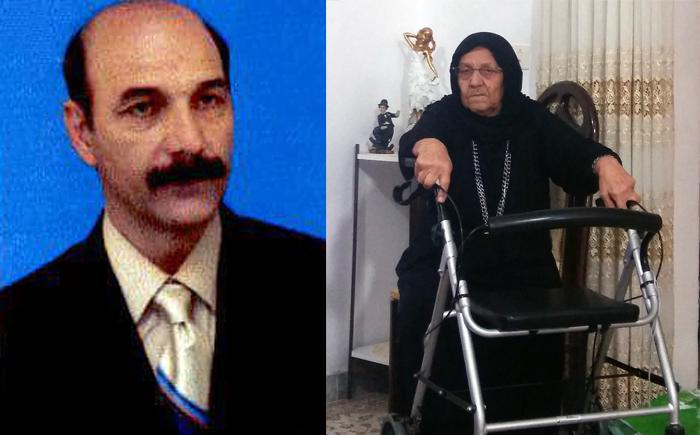 Rasoul Mahdlou mother