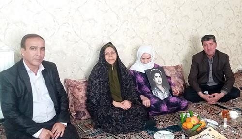 Ali Madad sadeghi mother - the MKO Cult hostage